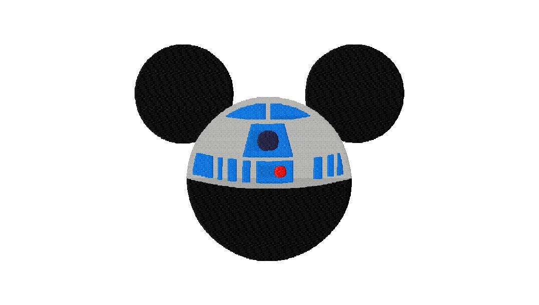 INSTANT DOWNLOAD Disney Meets Star Wars Mickey by EmbroideryFirst