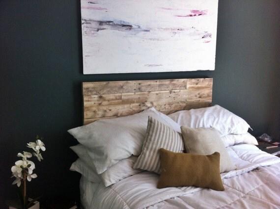 elegant and rustic reclaimed wood headboards queen. Black Bedroom Furniture Sets. Home Design Ideas