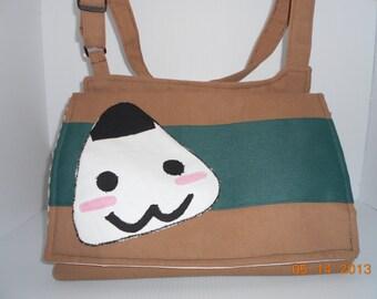 """Anime """"Rice Ball"""" messenger bag"""