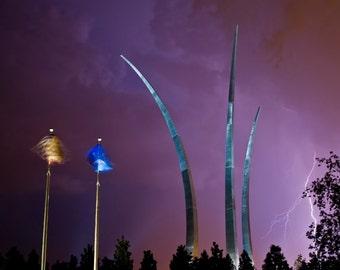 Stormy Air Force Memorial