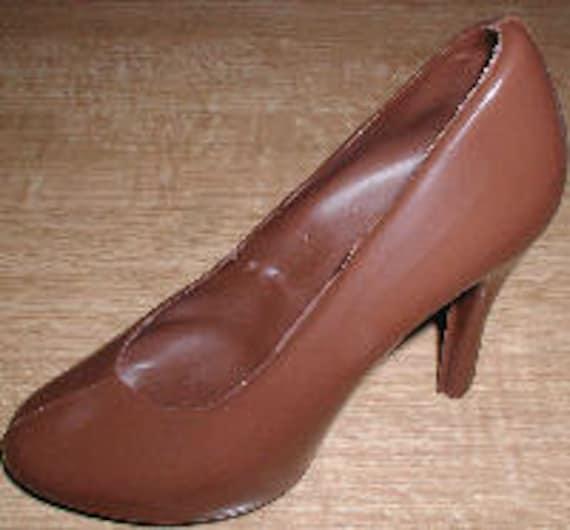 size high heel shoe chocolate mold