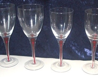 Wine & Champaign Glasses - Set of Four