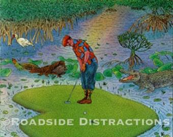 Everglades Golfer no. 15