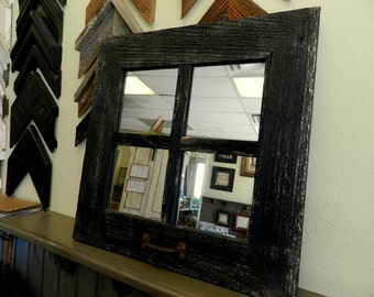 "18"" Square (4 pane) Window Mirror"