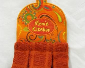 Mom's Decorative Kitchen Towel Topper