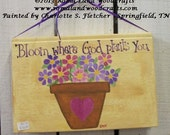 Bloom Where God  Plants You Book