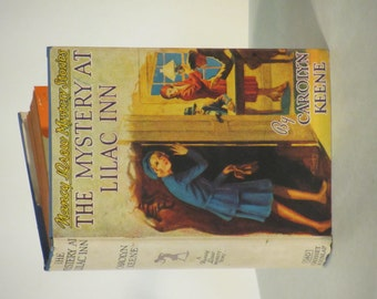 "Vintage 1944 - 1946 Nancy Drew Mystery- ""The Mystery at Lilac Inn"""