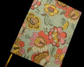 Journal, Vintage Inspired Floral Notebook with Hand Stitched Binding, Jotter, Memo Book, Sketchbook, Bridesmaids Gifts