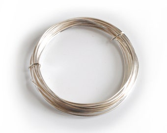 Proops Silver Plated Wire 0.8mm x 6m. Various Quantities Available (X1108) Free UK Postage.