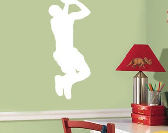 Basketball Silhouette wall decal