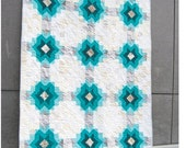 Echo Star Quilt and Pillow complete PDF pattern