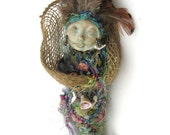 Ix-Chel, Goddess of the Moon, Rainbow Lady, protector,  Spirit Art Doll