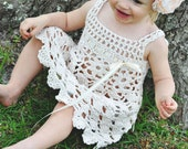 Wind Dancer Crochet Pattern Sundress Sizes 6 mos - girls size 5