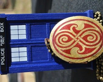 Time Lord Time Lady Brass Locket