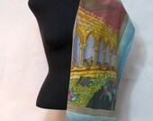 The Cloisters Silk Scarf