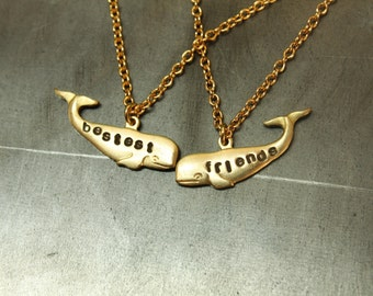 bestest friends Necklaces Gold