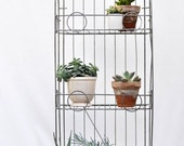 vintage wire shelving -- local pick up only