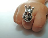Sea Monkee Ring in Sterling Silver