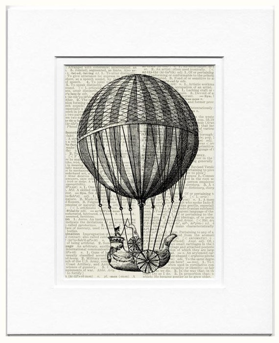 18oo's flying balloon I print