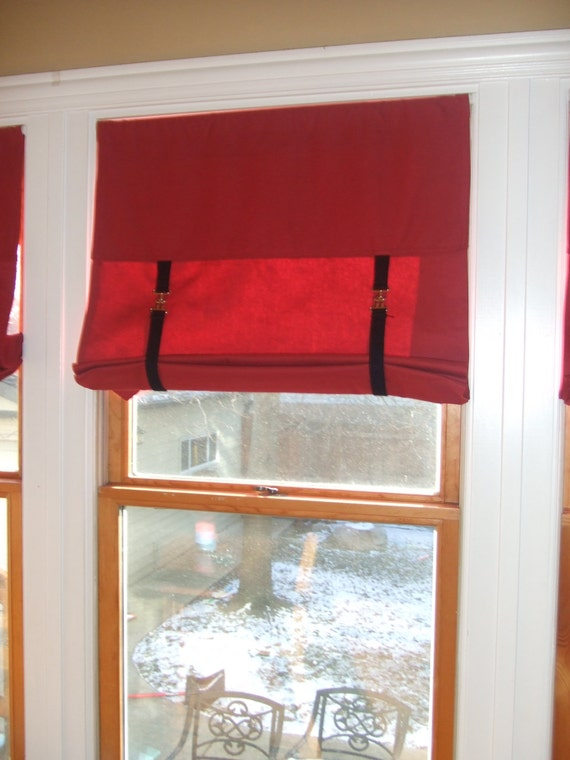 Items Similar To Roll Up Blind Rod Pocket Window Shade