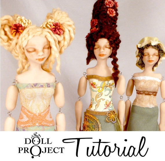 Art Doll Tutorial - Pillow Form Figures - How to make your own original art doll