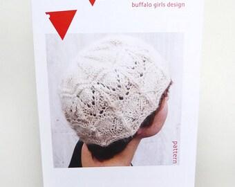 Knitting Pattern, Knit Hat Pattern, Knitted Beanie Hat Pattern, Digital Pattern, Winter Fashion, Winter Accessories