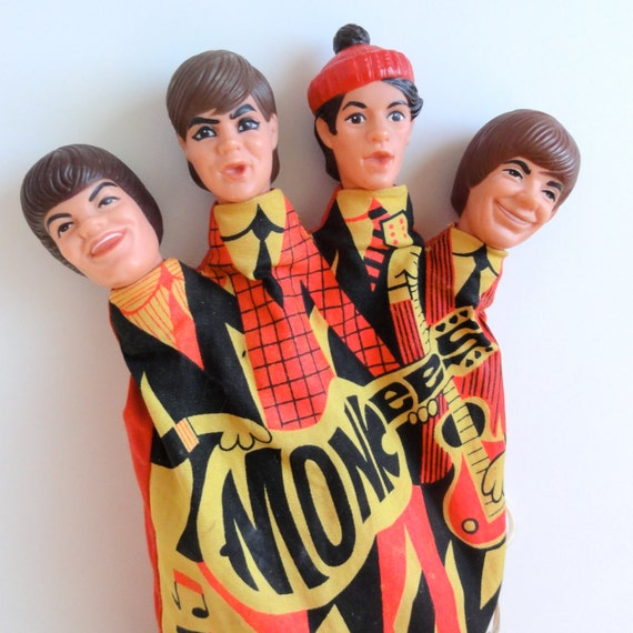 1966 Monkees Hand Puppet