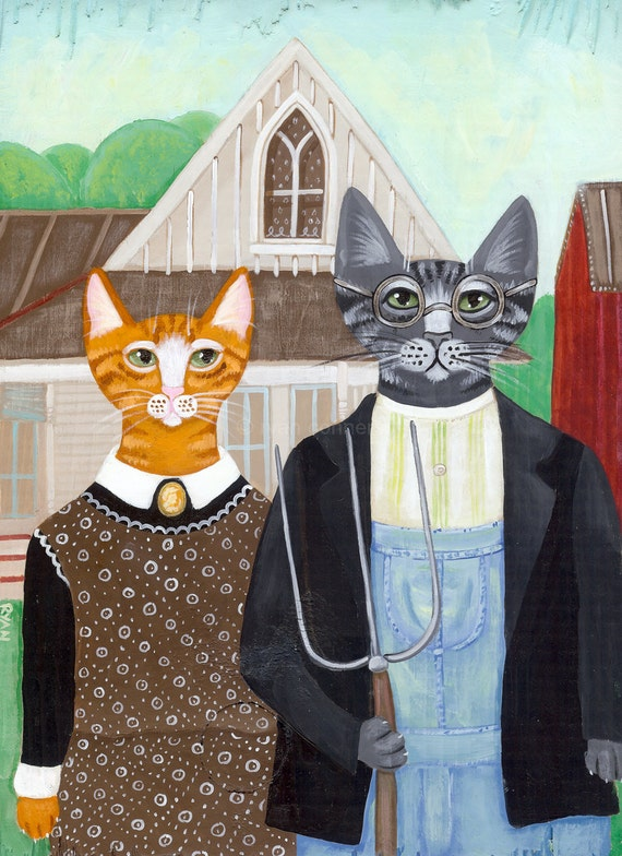 My Paisley World American Gothic Parodies