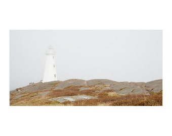 Newfoundland Landscape Photography - Newfoundland Art - Cape Spear Lighthouse Decor - Coastal Art - Lighthouse Art - Nautical Decor
