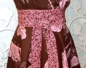 Bloomin Fun Halter Apron - Reserved for Deb
