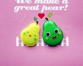 love jelly magnet valentine card- we make a great pear