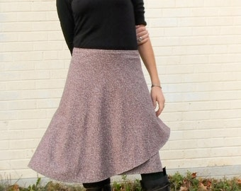 Wrap Skirt Hemp and Organic Cotton Made to Order
