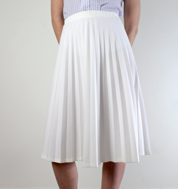 accordion pleated skirt white pleated skirt by jessjamesjake