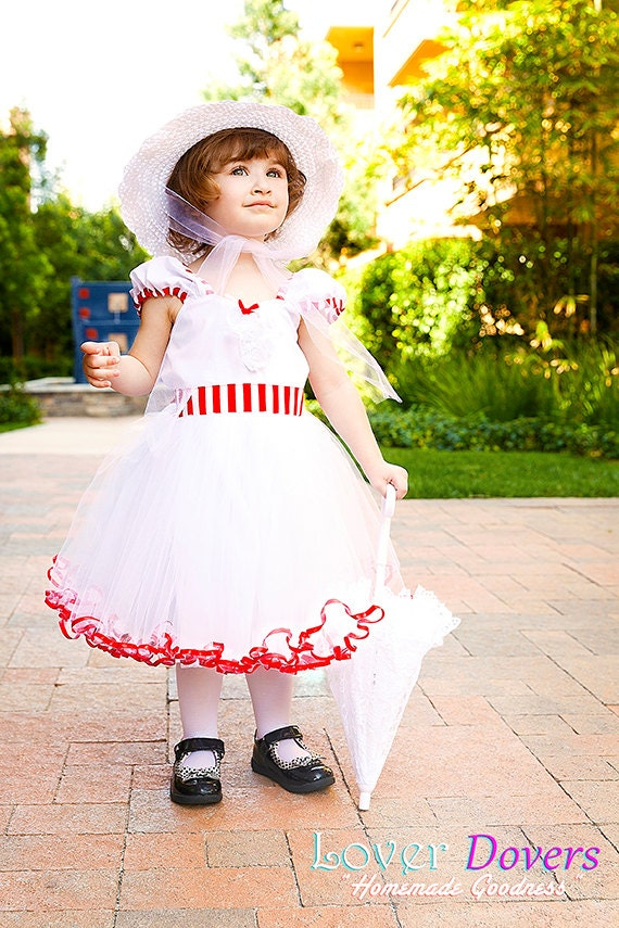 mary poppins dress girls costume dress fun for special. Black Bedroom Furniture Sets. Home Design Ideas
