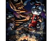 "MST3K Attacks 8"" x 10"" Mystery Science Theater 3000 Art Print"