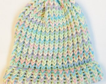 Infant Knitted Hat Frolic Color Hat Hats And Caps Infant Beanie Hat Knitted Baby Hat Baby Accessories