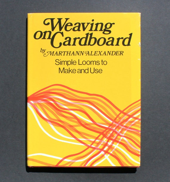 Weaving On Cardboard Instructional Craft Book