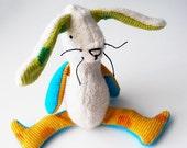 Eco Organic Bunny Rabbit Doll Stuffed Animal Toy