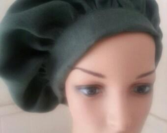 Custom Renaissance Linen Muffin Cap Hat Medieval, SCA, LARP, Renaissance Faire