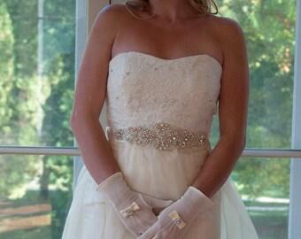 Beaded Bridal Sash