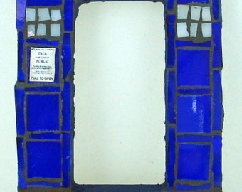 Doctor Who TARDIS Mosaic Rocker Light Switch Plate Cover