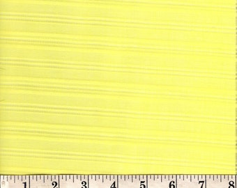 """VINTAGE Yellow Striped Shirting Fabric. 54""""x 44""""wide."""