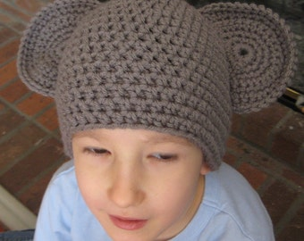 Mouse Hat for Baby, Toddler, or Child -- Four Sizes -- Crochet Pattern -- Instant Digital Download