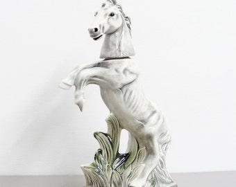 Vintage Porcelain Horse Decanter, Jim Beam