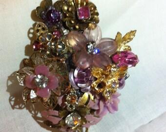 """Lady Rankin's Designed  """"Pink Beauty"""" Brooch"""
