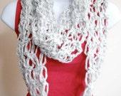 Silver Linings Infinity Scarf Accessories Women Crochet