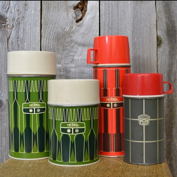 Instant Collection of Thermos Brand Coffee Thermoses