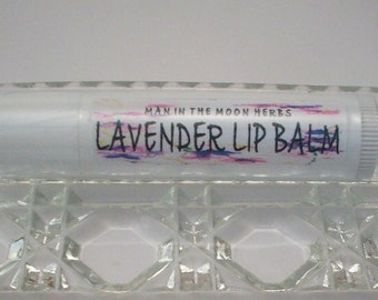 Lavender Lip Balm -  Lavendar Essential Oil Aromatherapy