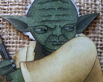 Jedi Master Yoda Star Wars Ornament