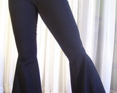 Flare Tribal Pants - Cotton lycra - thick and comfortable - Color choice